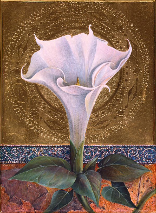 Fred Wessel - Venetian Icon (Angel's Trumpet)
