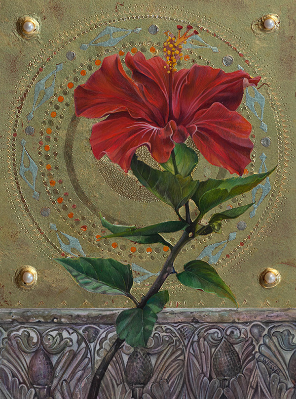 Fred Wessel - Hibiscus Icon